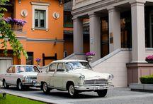Retro cars at Gallery Park Hotel & SPA in Riga city center!