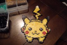 Pixel Art - SelfMade / Some Pixel Art with hama Beads I've done.  You can found them on my own Instragram : Papplesmash.