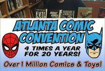 Atlanta Comic Convention 07/02/2017