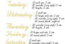 looks I wish I had & workouts!!  / by Jessie Sears