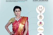 Celebrity Collections / Diamond jewellery collections of celebrity choice.