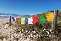 Traditional Tibetan Prayer Flags