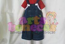 Minhas bonecas / Bonecas de pano e decoração