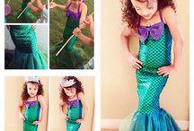 Ariel temali dogum gunu