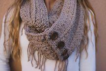 Bufandas crochet originales