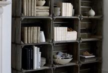 Vardagsrum / Ett rum med plats för livet, böcker och barn