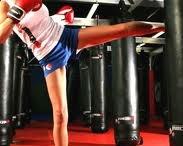 Kickboxing  / by Kathy Gene Banff