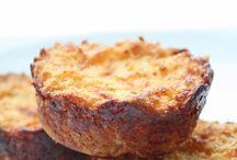 Cauliflower cheese mufffin