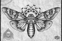 nape tattoo