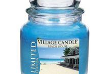 Village Candle Limited edition / Geurkaarsen in een glazenpot ( jar) met 2 lonten (wicks) branden mooi en schoon