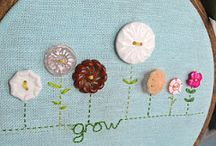embroidery hoops ideas
