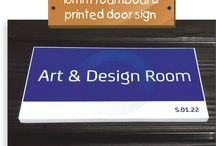 Internal Signage / Examples of our work