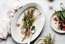 eat | spring recipes / Super fresh vegetarian recipes for spring!