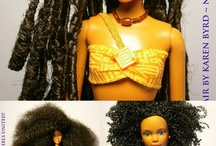"""Barbie dolls ~ / by Marie Brewer~ """"Ms. M"""""""