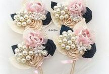 Mother of the bride buttonhole