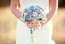 Brooch Bouquets  / by Celebrations by Amy Bacon 💍