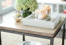 | accent table arrangements |