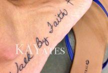 If I had a tattoo!