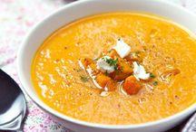 Fat-free soups