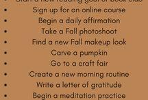 Fall season to do