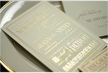 Wedding invites,paper and packaging