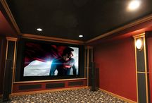 Home Theater Equipment / Home Theater installations performed by Bright Home Theater and Audio