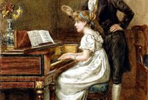 old music - harpsichord, dance..