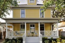 American Foursquare & Craftsman ideas, style and plans / My house is an American FourSquare built in 1903. I like to find out more about the originality of it and to stay in the proper style. / by Jacki Moore