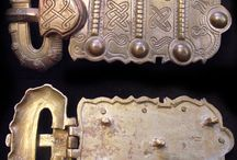 VI-VII century bukles / all our replic of bronze bukle of VI to VII century