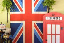 England Party setup