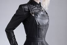 Leather Top /Shirt