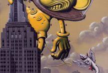 lowbrow pop surrealisme popsurrealism art pieter borst  / lowbrow pop surrealisme popsurrealism art pieter borst