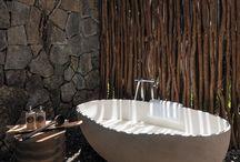 Outdoor bathrooms