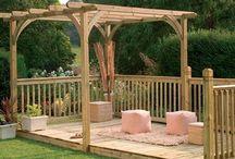 DIY Decks & Outdoor funiture. / by Karen Price