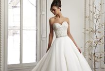 Madeline Gardner New York / Stunning bridal gowns by Madeline Gardner, all available at Amelia's Bridal Boutique.