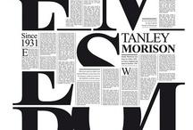 Typografie / Inspiratie fonts design
