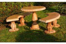 Meble decobranche / Meble ogrodowe jako rzeźby ogrodowe to coś co może zainteresować każdego kto chce produkt ten potraktować bardziej jako element dekoracyjny ogrodu a nie tylko użytkowy.