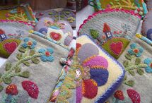 Wool Quilts & Needle Felting