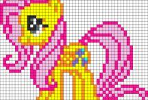 Perler ny little pony