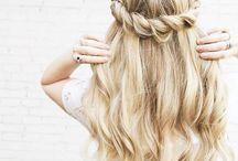 hair style... :-)