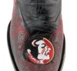 Gameday Shoes / Game day cowboy boots, sandals, and other shoes you can wear to show your school spirit!