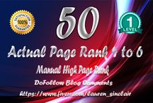 manually 50 blog comment / Want Higher Ranking In Google??  Nothing Is Better Than HIGH PR BLOG COMMENTING SERVICE. Google Love These Kinds Of Back Links Because Your Website Is Linking To Authority Site That Is Already Index In Search Engines. This Service Is A WIN For Both Your Site, And Sites Where We Will Place Your Link With Additional Content.