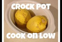 Clean Crock Pot / Clean eating from the crock pot / by Becky Fagan