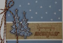 Cards Christmas / Zelf made Cards and ideas