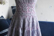 Crochet Dresses / Art of crochet, crochet fashion, crochet dress