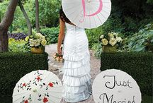 Personalized Wedding Inspiration / Make your day extra special with these personalized wedding ideas.