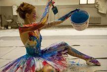 Dance + Art / by Kristen Kemp