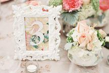Tischnummern / Tischnummern Hochzeit