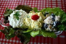 Salads / by Donna J Miller