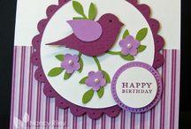 3 bird -cards